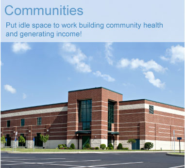 Put idle space to work building community health and generating income!