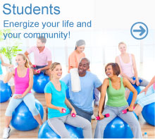 Students: Energize your life and your community!